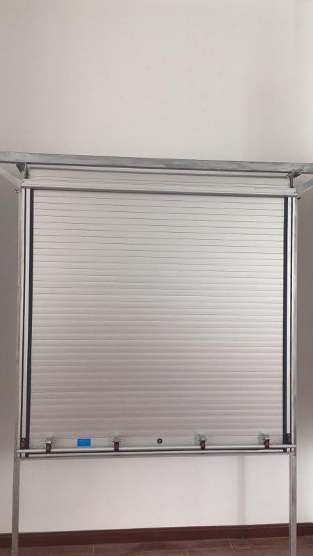 铝合金卷帘门 展示