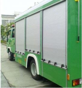 消防车卷帘门